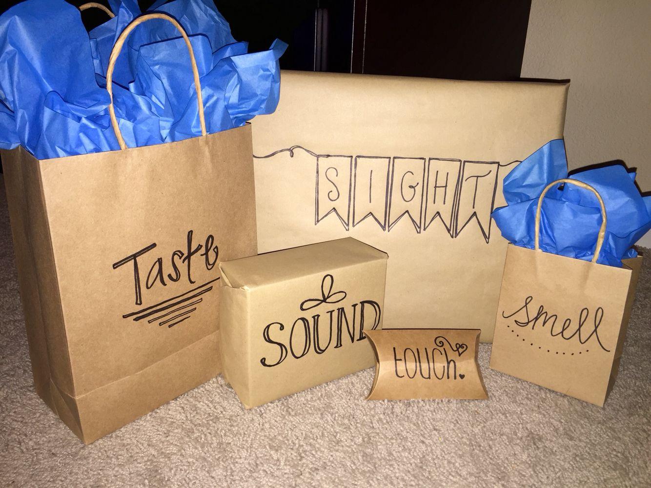 Gift Ideas For Boyfriends Family  5 senses t idea for the friend family member or