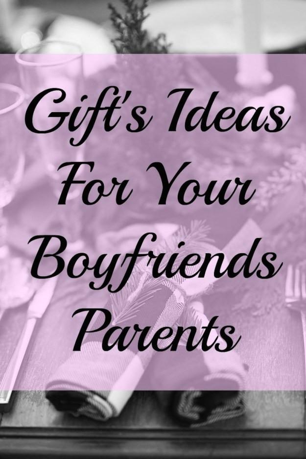 Gift Ideas For Boyfriends Family  Gift s Ideas For Your Boyfriends Family