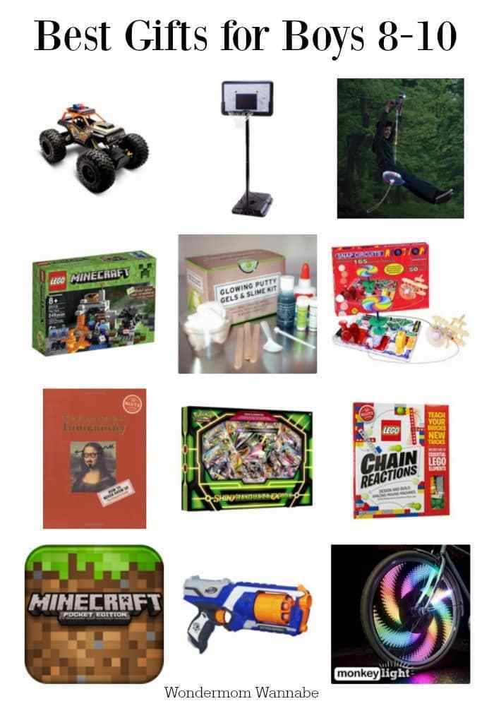 Best ideas about Gift Ideas For Boys 10 . Save or Pin Best Gifts for 8 to 10 Year Old Boys Now.