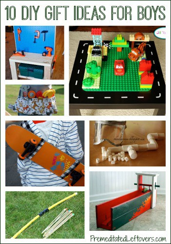 Best ideas about Gift Ideas For Boys 10 . Save or Pin 10 DIY Christmas Gift Ideas for Boys Now.