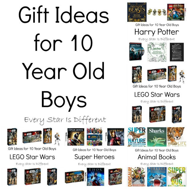 Best ideas about Gift Ideas For Boys 10 . Save or Pin Gift Ideas for 10 Year Old Boys Every Star Is Different Now.