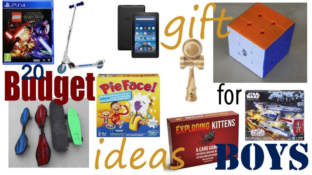 Best ideas about Gift Ideas For Boys 10 . Save or Pin 20 Bud Christmas Gift Ideas For Boys From $10 to Under Now.