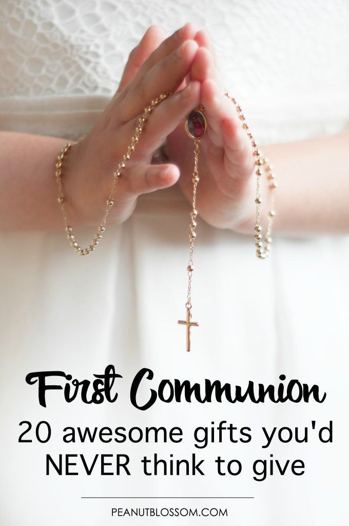 Gift Ideas For Boys 1St Communion  20 First munion ts you d never think to give