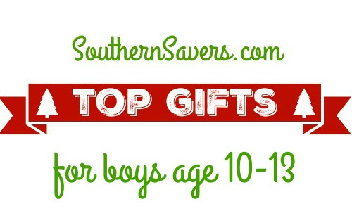 Gift Ideas For Boys Age 10  2015 Gift Guide Top Gifts For Boys 10 13 Southern Savers