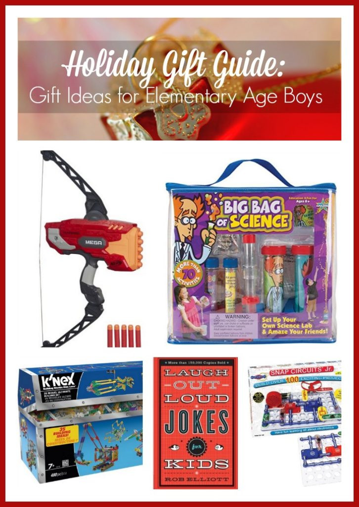 Gift Ideas For Boys Age 10  Holiday Gift Guide Gift Ideas for Elementary Age Boys