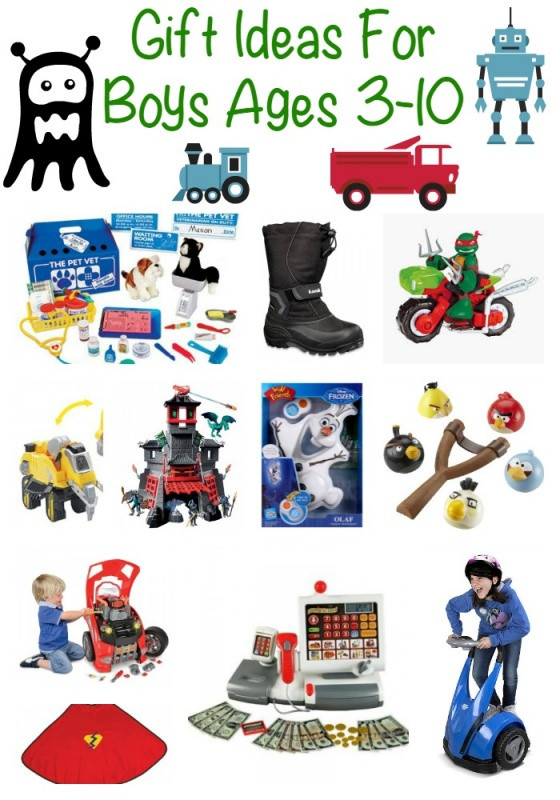 Gift Ideas For Boys Age 10  Christmas Gift Ideas For Boys
