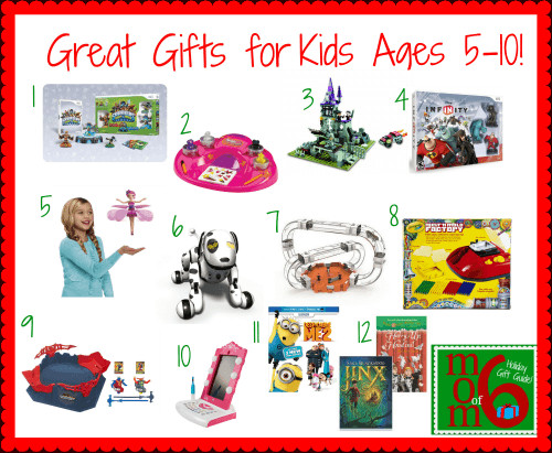 Best ideas about Gift Ideas For Boys Age 5 . Save or Pin Great Gifts for Kids Ages 5 10 Mom 6 Now.