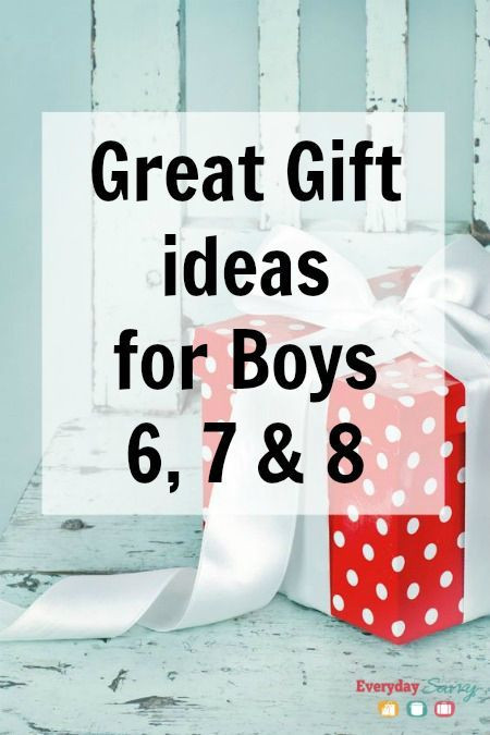 Gift Ideas For Boys Age 7  Great Gift Ideas for Boys Ages 6 7 8