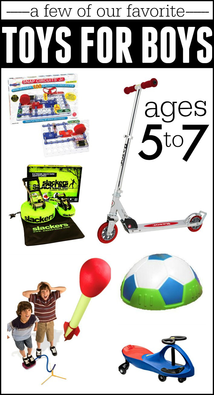 Gift Ideas For Boys Age 7  Best Gifts for Boys Ages 5 7 I Can Teach My Child