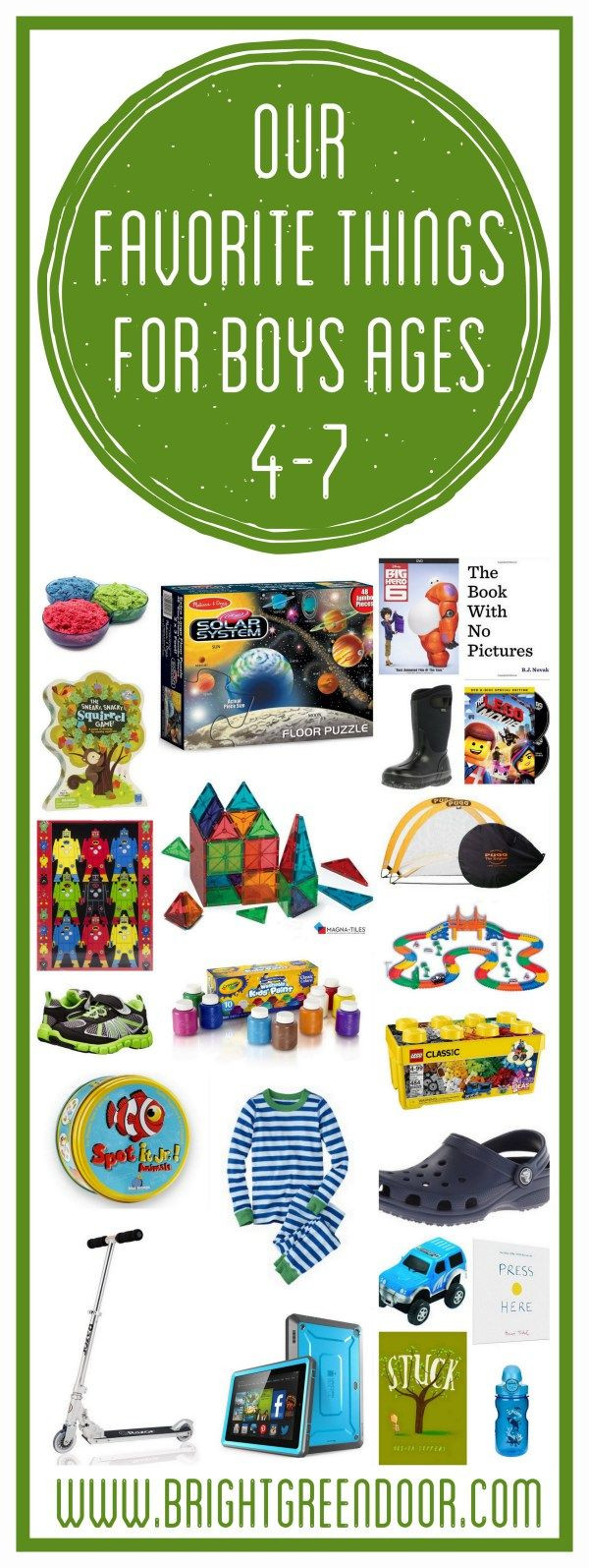 Gift Ideas For Boys Age 7  Our Favorite Things for Boys Ages 4 7