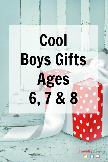 Gift Ideas For Boys Age 7  Cool Boys Gifts for Ages 6 7 & 8 Everyday Savvy