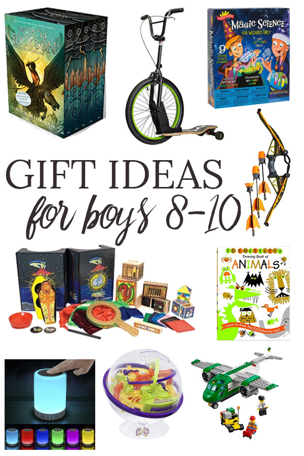 Best ideas about Gift Ideas For Boys Age 8 . Save or Pin Gift Ideas for Boys Ages 8 10 Now.