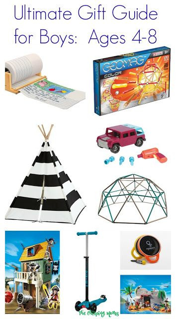 Best ideas about Gift Ideas For Boys Age 8 . Save or Pin Ultimate Gift Guide for Boys Ages 4 8 Now.