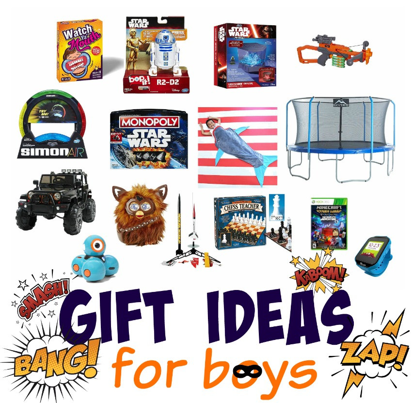 Gift Ideas For Boys  Gift Ideas for Little Boys The Cards We Drew