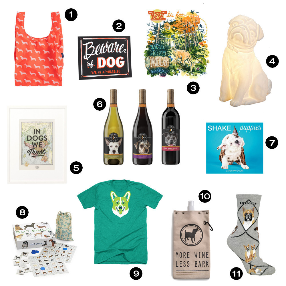 Gift Ideas For Dog Lovers  Dog Milk Holiday Gift Guide 22 Great Gift Ideas for Dog