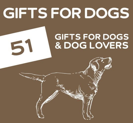 Gift Ideas For Dog Lovers  51 Pawsome Gifts for Dogs & Dog Lovers