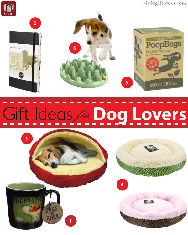 Gift Ideas For Dog Lovers  Dog Lover Gifts