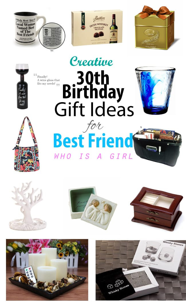 Gift Ideas For Girlfriend Birthday  Creative 30th Birthday Gift Ideas for Female Best Friend
