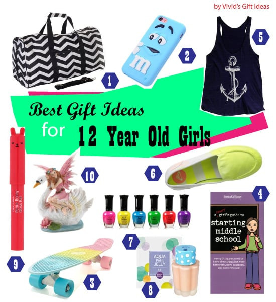 Gift Ideas For Girls Age 12  List of Good 12th Birthday Gifts for Girls