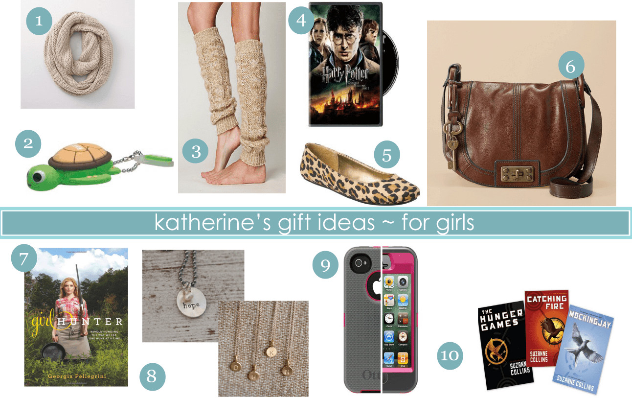 Best ideas about Gift Ideas For Girls . Save or Pin Gift Ideas Katherine s List for Girls and a Giveaway Now.