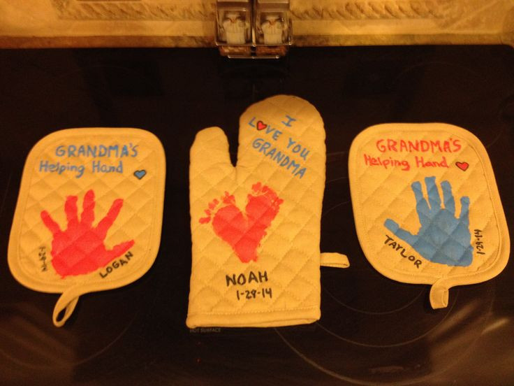 Best ideas about Gift Ideas For Grandmother . Save or Pin The birthday ts I helped my kids make for their Grandma Now.