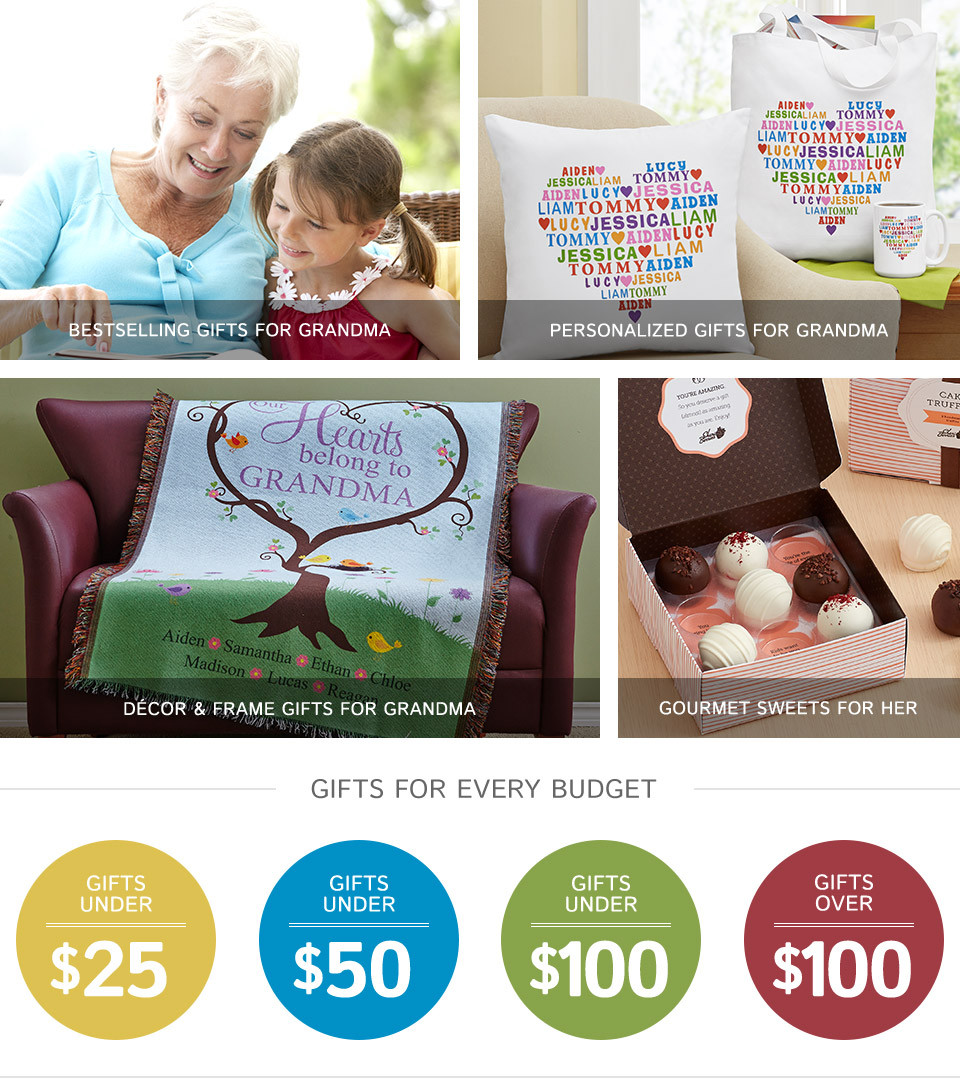 Best ideas about Gift Ideas For Grandmother . Save or Pin Gifts for Grandma Now.