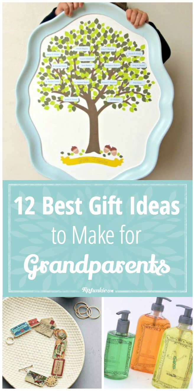 Best ideas about Gift Ideas For Grandmother . Save or Pin 12 Best Gift Ideas to Make for Grandparents Now.