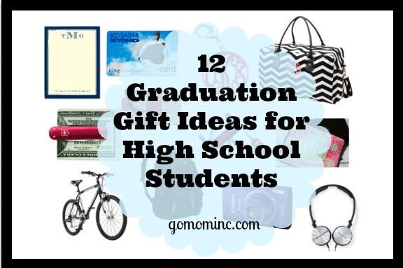 Gift Ideas For High School Graduation  Graduation Gift Ideas High School Students GO MOM