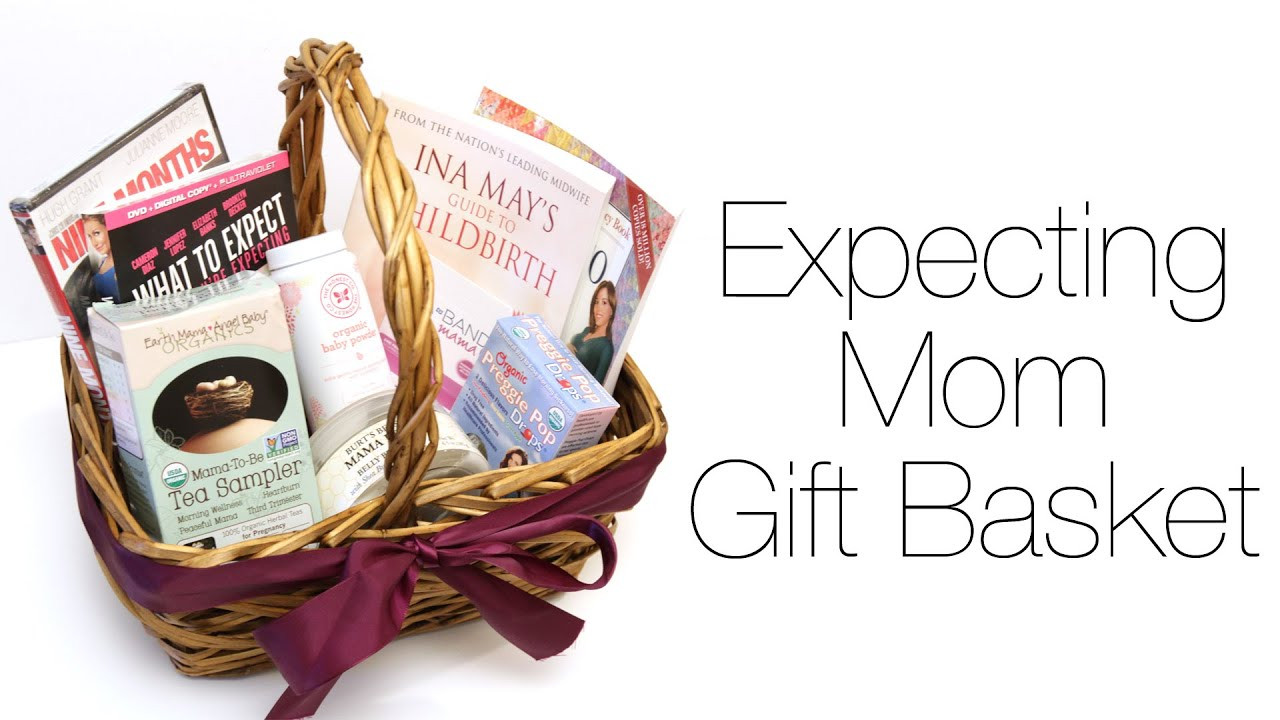 Gift Ideas For Mother To Be  Expecting Mom Gift Basket