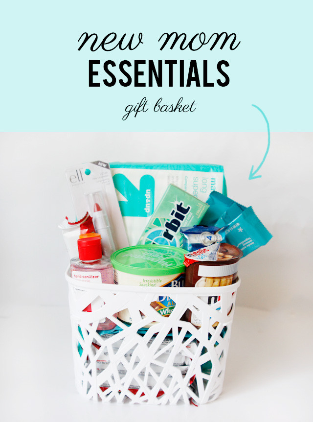 Gift Ideas For Mother To Be  what to bring a new mom new mom essentials t basket
