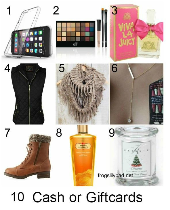Best ideas about Gift Ideas For Teenage Girls . Save or Pin Christmas Gifts For Girls Now.