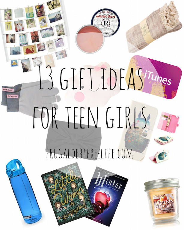 Best ideas about Gift Ideas For Teenage Girls . Save or Pin 13 t ideas under $25 for teen girls — Frugal Debt Free Life Now.