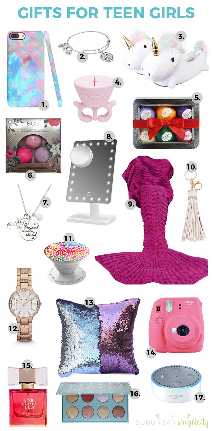 Best ideas about Gift Ideas For Teenage Girls . Save or Pin Gift Guides Suburban Simplicity Now.