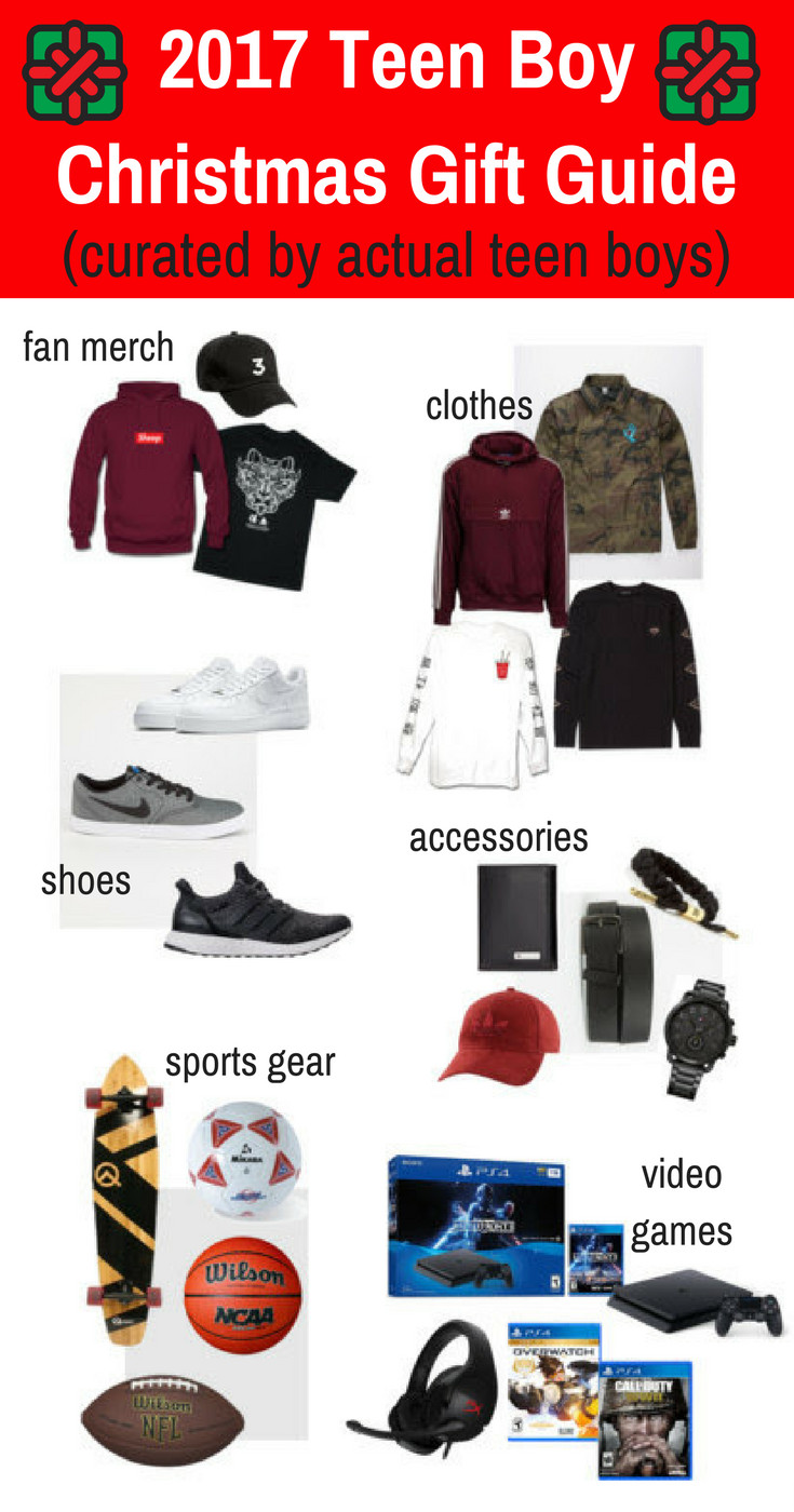 Gift Ideas For Teenager Boys  2017 Teen Boy Christmas Gift Guide Chosen by Real
