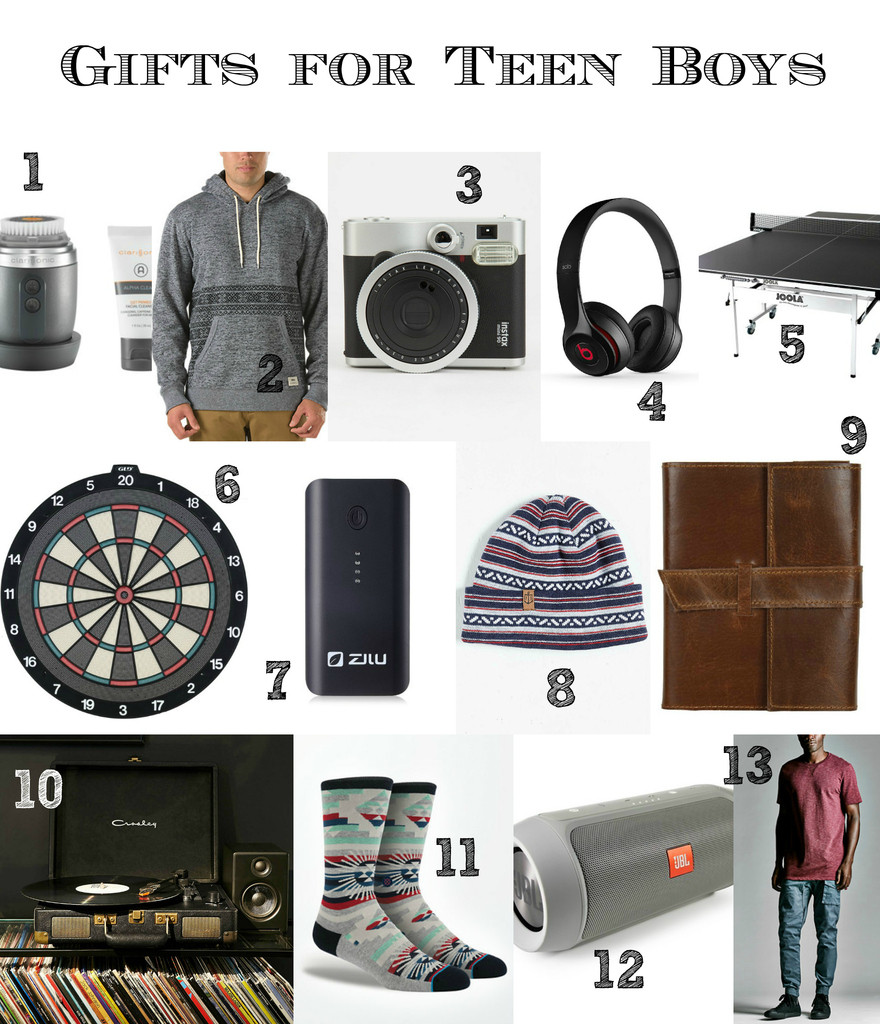 Gift Ideas For Teenager Boys  Last Minute Gift Ideas for Teen Boys and Men that don t