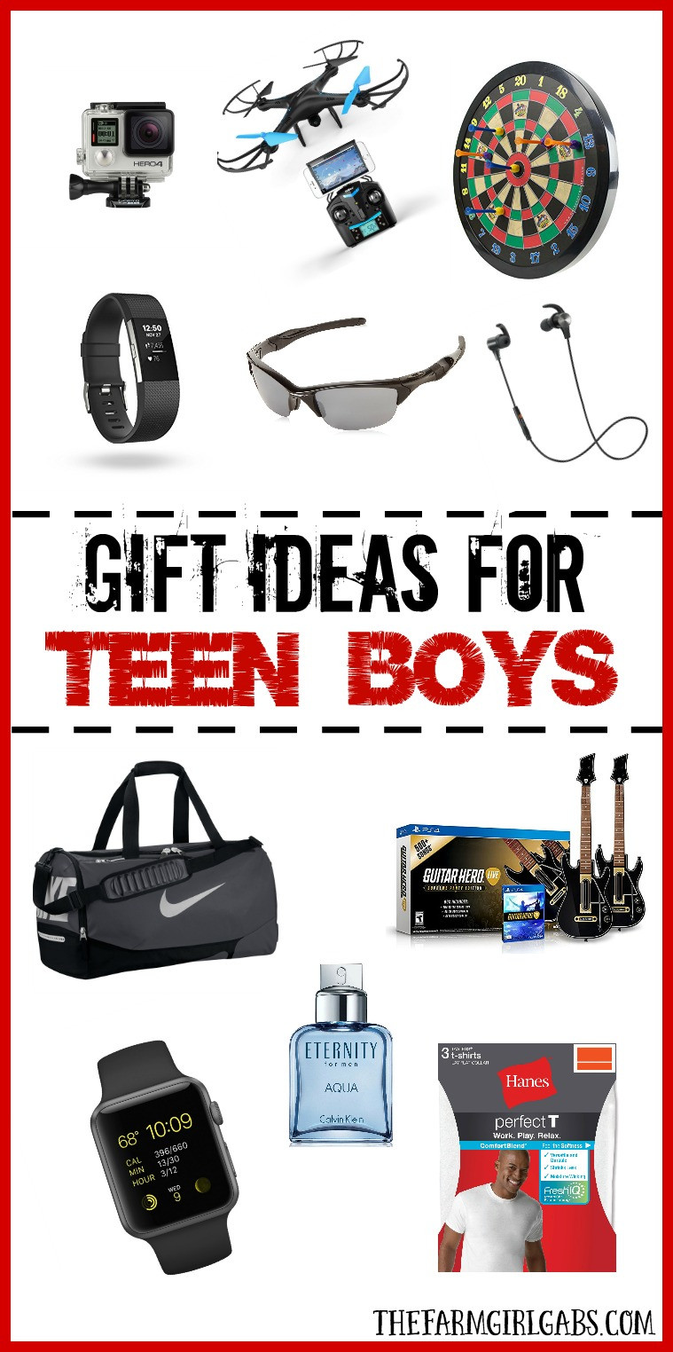 Gift Ideas For Teenager Boys  Gift Ideas For Teen Boys