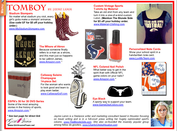 Best ideas about Gift Ideas For Tomboys . Save or Pin Girl Around Town Tomboy Gift Guide Now.