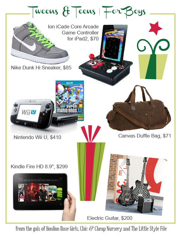 Gift Ideas For Tween Boys  ts for tween & teen boys teens tweens ts boys