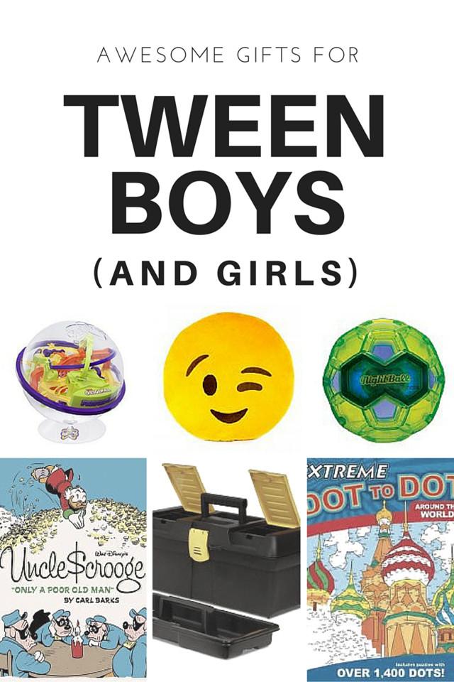Gift Ideas For Tween Boys  16 Gift Ideas for Tween Boys and Tween Girls Too