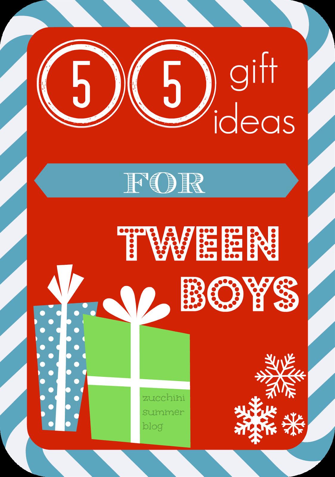 Gift Ideas For Tween Boys  Zucchini Summer 55 Christmas Gift Ideas for Tween BOYS