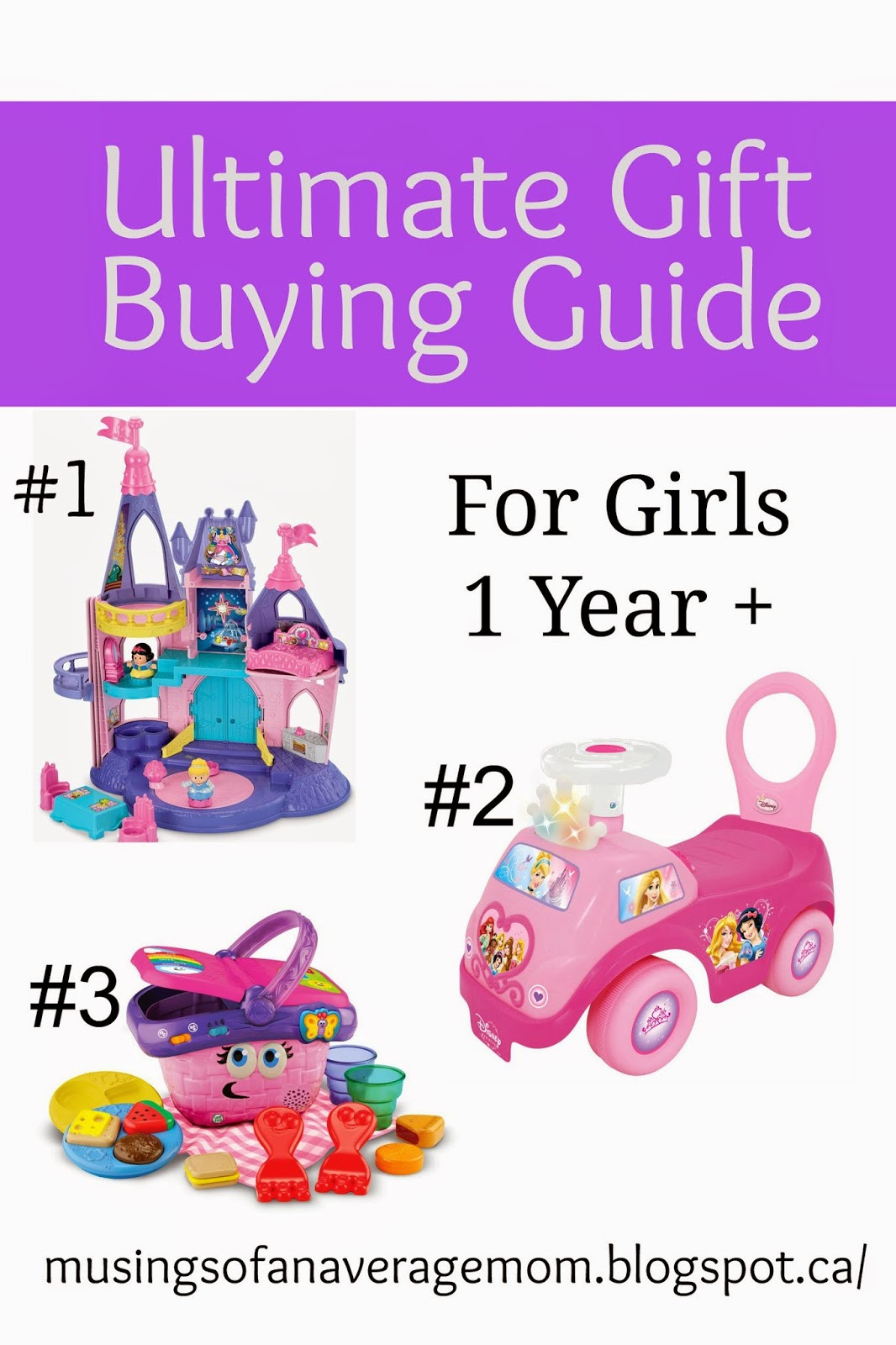 Gift Ideas For Two Year Old Baby Girl  Musings of an Average Mom Ultimate Gift Buying Guide e