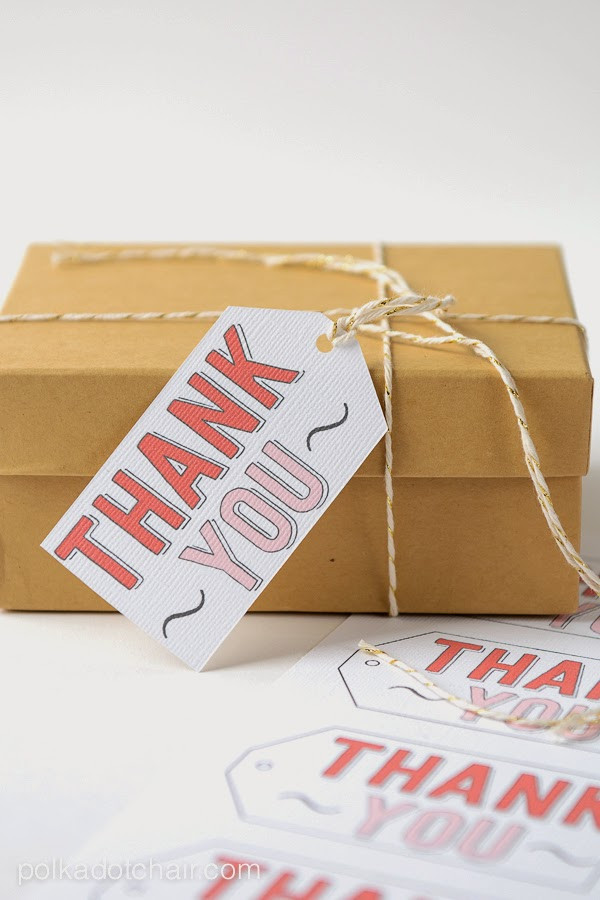 Gift Ideas To Say Thank You  Creative Ways to Say THANK YOU U Create