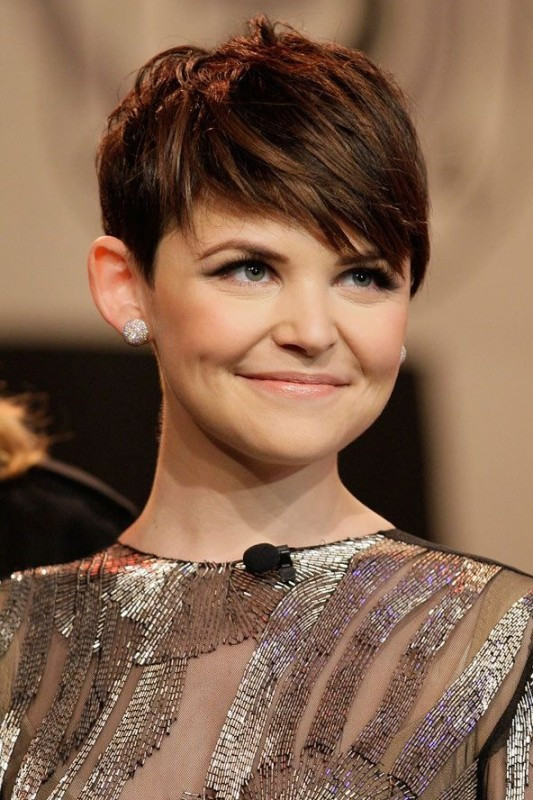 Ginnifer Goodwin Hairstyles  short hair before and after – cable car couture