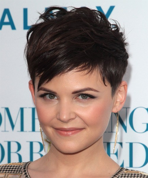 Ginnifer Goodwin Hairstyles  20 Stunning Looks With Pixie Cut For Round Face