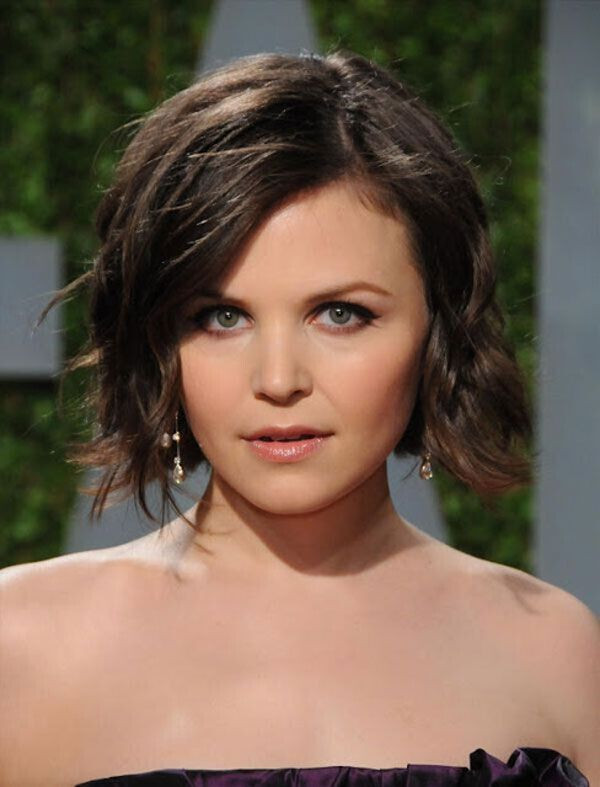 Ginnifer Goodwin Hairstyles  22 Flattering Hairstyles for Round Faces Pretty Designs