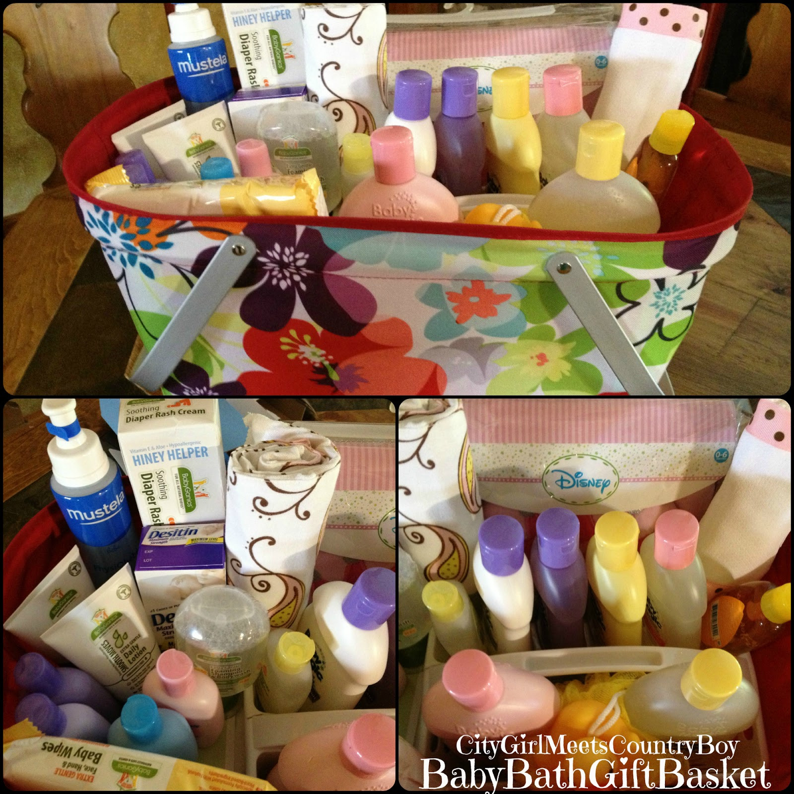 Girl Baby Shower Gift Basket Ideas  City Girl Meets Country Boy Baby Shower Gift