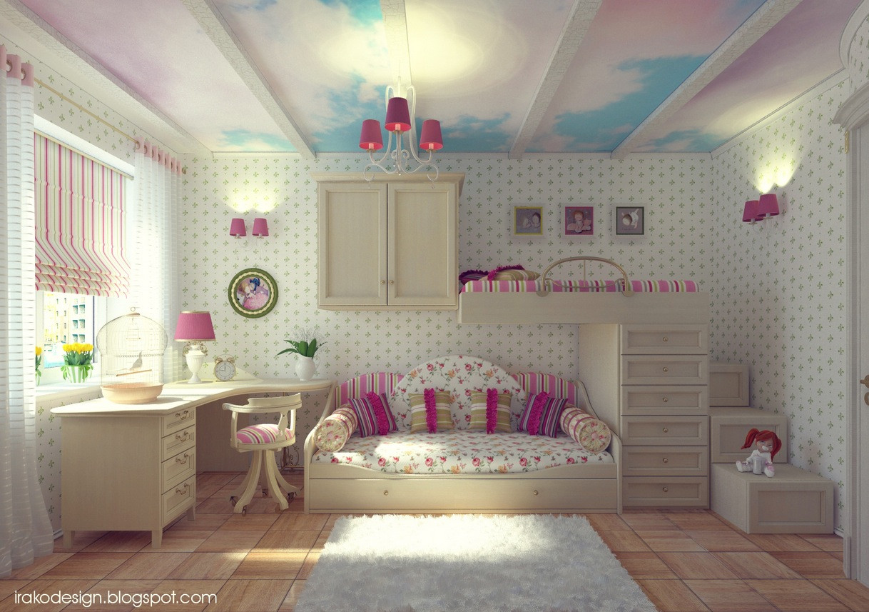 Best ideas about Girl Bedroom Ideas . Save or Pin Cute Girls Rooms Now.
