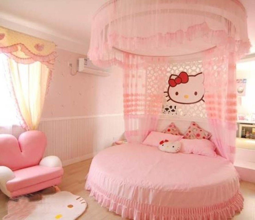 Best ideas about Girl Bedroom Ideas . Save or Pin Hello Kitty Girls Room Designs Now.