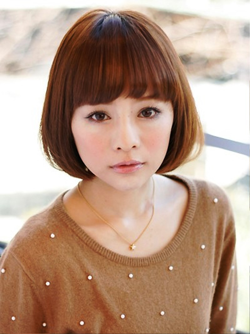 Girl Bob Haircuts  of Japanese Bob Hairstyle For Girls