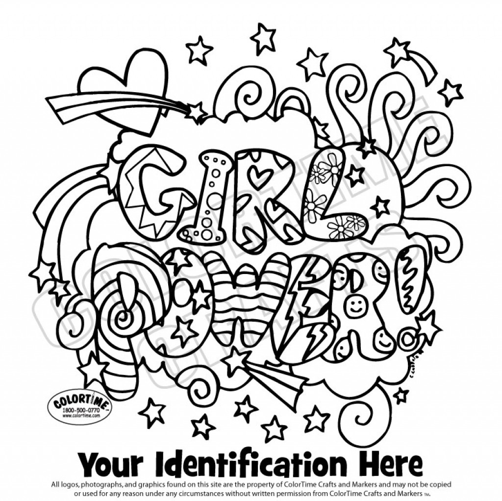 Girl Scout Printable Coloring Pages  girl scouts coloring pages free printable